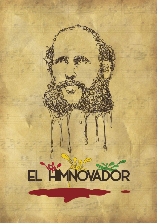 Afiche de El Himnovador, reciente obra basada en la vida de Vincenti.