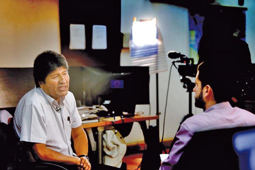 El exmandatario otorgó una entrevista en México.