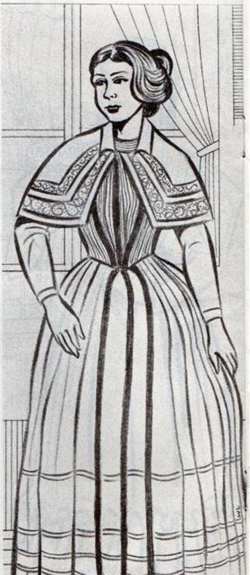 Liberata Sanjinés, hija de José Ignacio Sanjinés.
