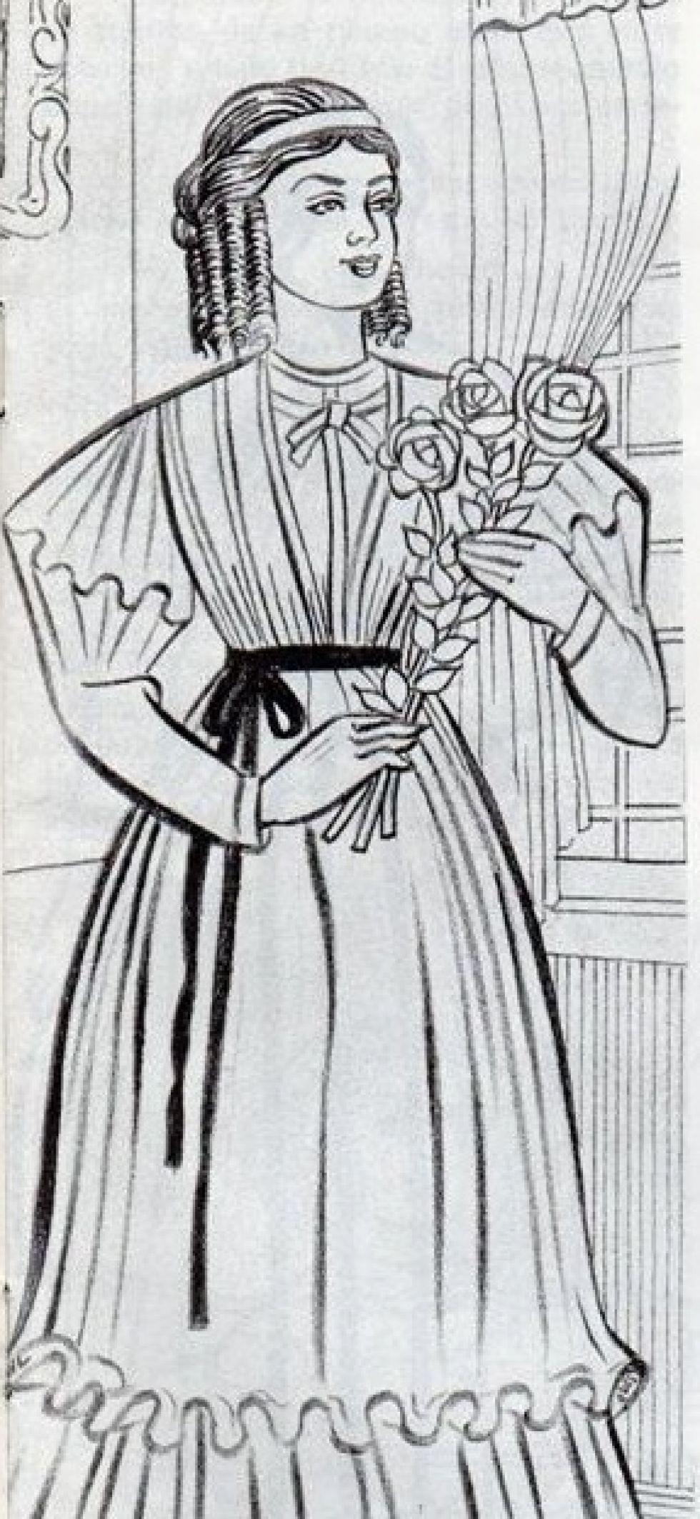 Carmen Corina Daza, hija de Melchor Daza.