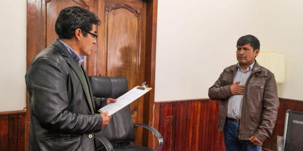 Posesionan al nuevo secretario general de la Gobernación