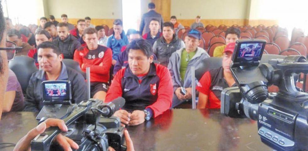 San Lorenzo y Real Tomayapo miden fuerzas en Potosí