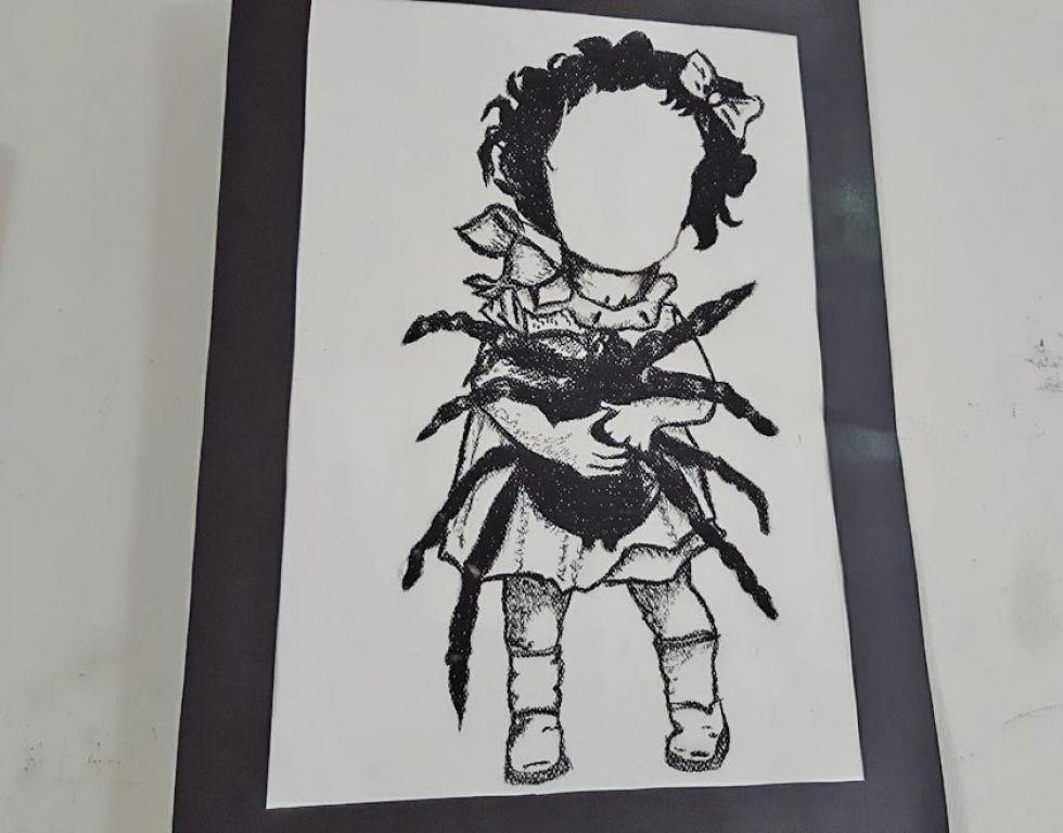 Estudiantes exhiben su arte en dos muestras