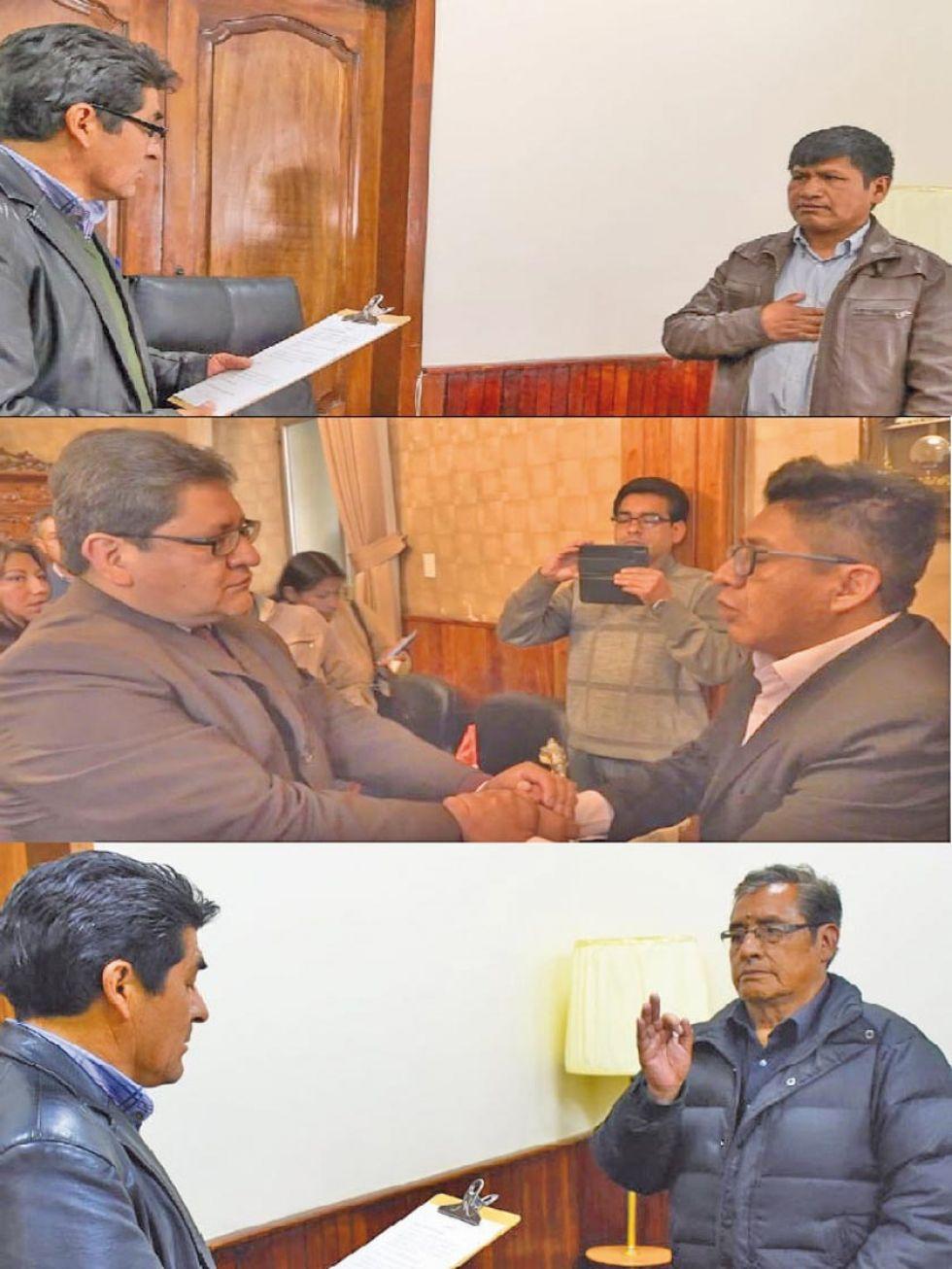 Juran nuevas autoridades con el encargo de trabajar por Potosí