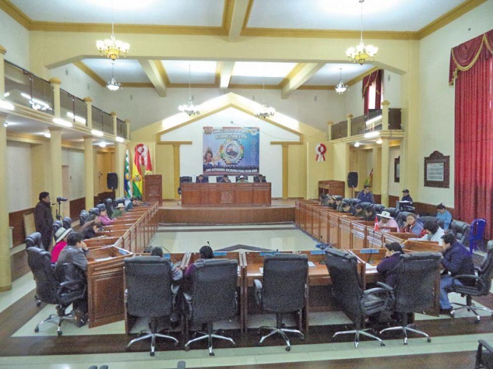Los asambleístas eligen ternas para la selección de vocales en la Cámara de Diputados.