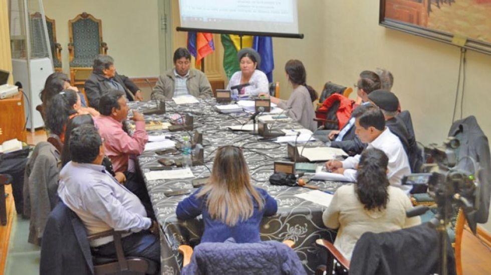 La Comisión Mixta de Constitución aprobó ayer los proyectos de reglamento y convocatoria