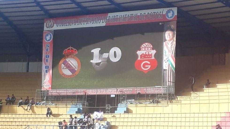 El primer gol fue anotado a los 45 minutos del segundo tiempo
