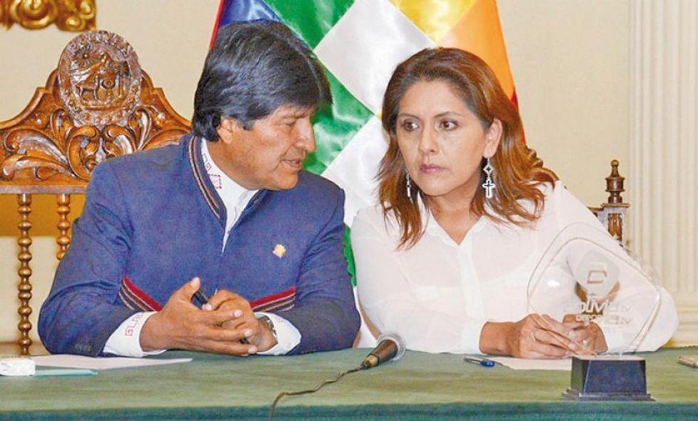 López fue posesionada por Evo Morales como ministra de Comunicación el 23 de enero de 2017.