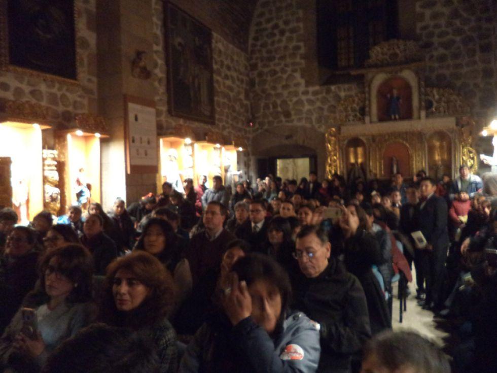 La presentación fue en la sala de retablos de la Casa Nacional de Moneda.