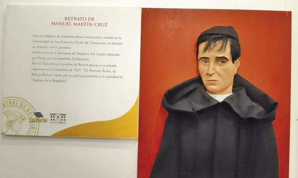 El sacerdote potosino Manuel Martín Cruz.