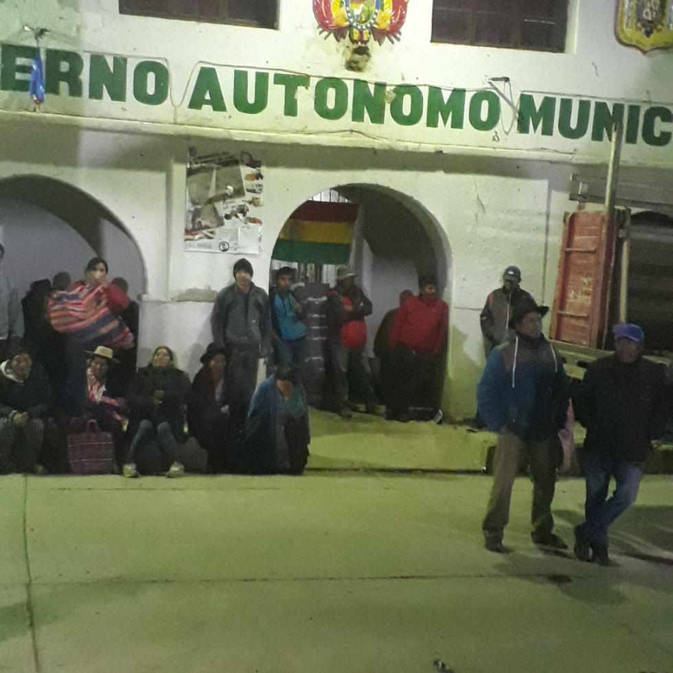 Así está la Alcaldía en Puna. Fotos gentileza de Blanca Carreño