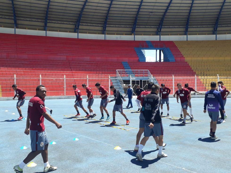 El equipo potosino está en El Alto.