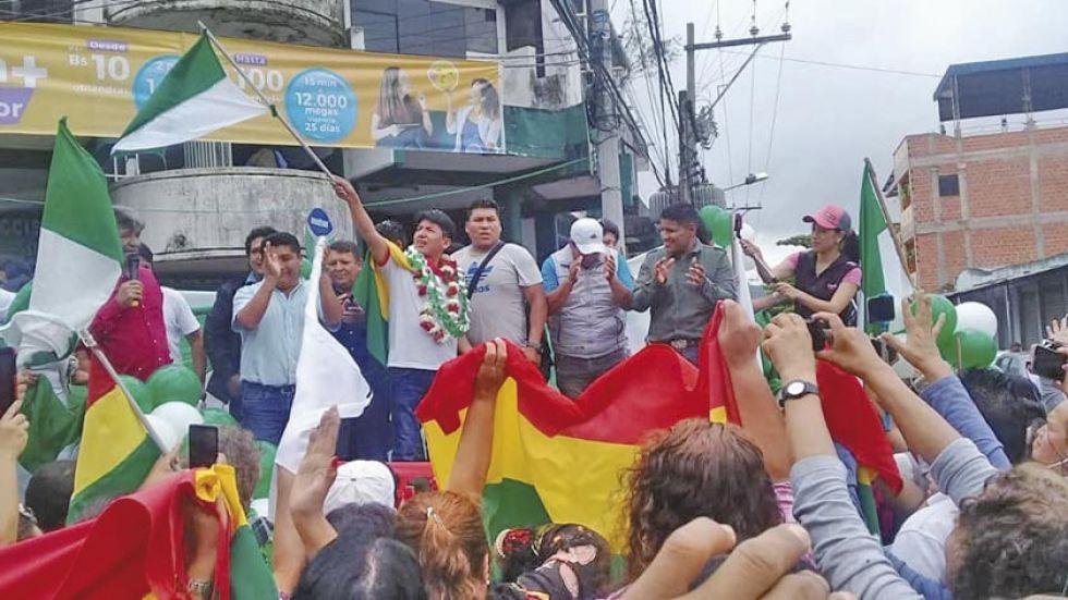 Pumari acepta ser candidato y en Comcipo se definirá binomio