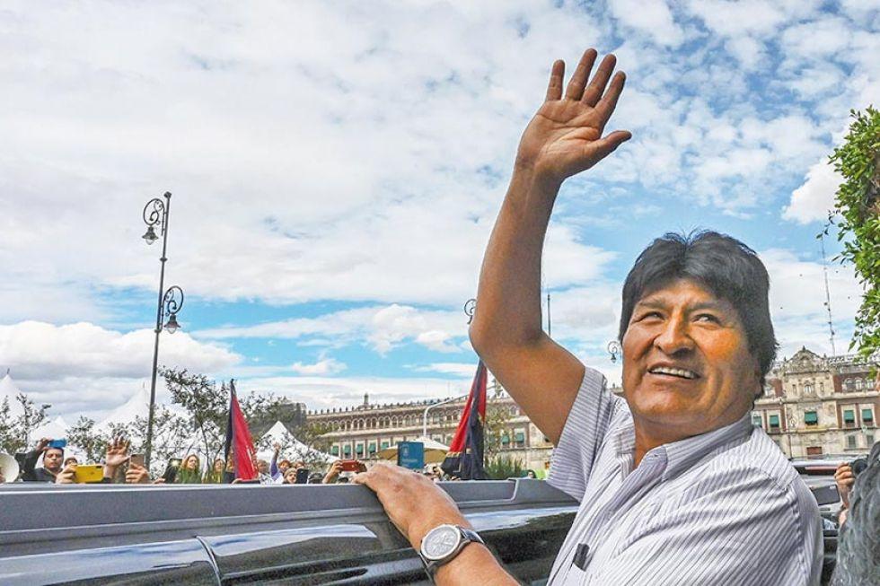 Morales Ayma renunció el domingo 10 de noviembre a la presidencia de Bolivia.