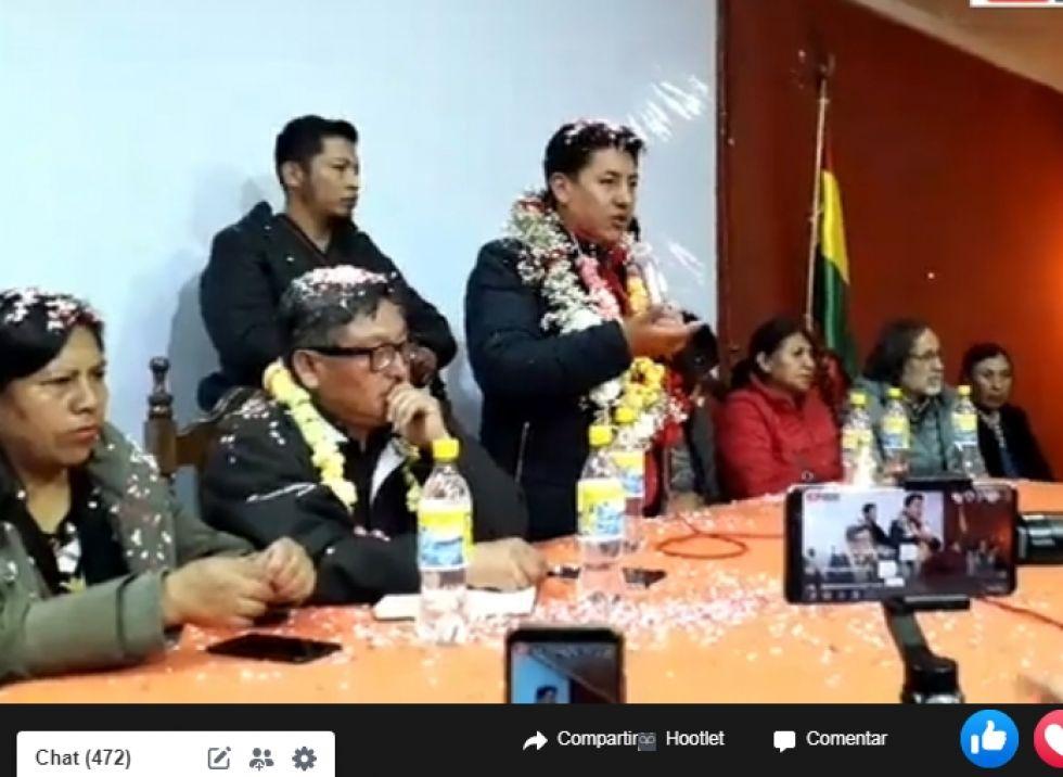 Comcipo decide que Pumari sea candidato y busque consenso nacional