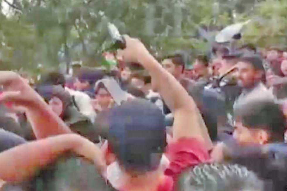 Arrestan a hombre que sacó un arma en medio de agresión a Pumari