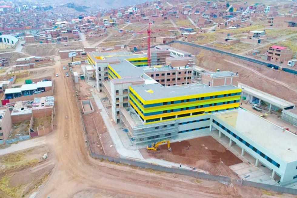 Se prevé que obras del hospital concluyan en octubre de 2020