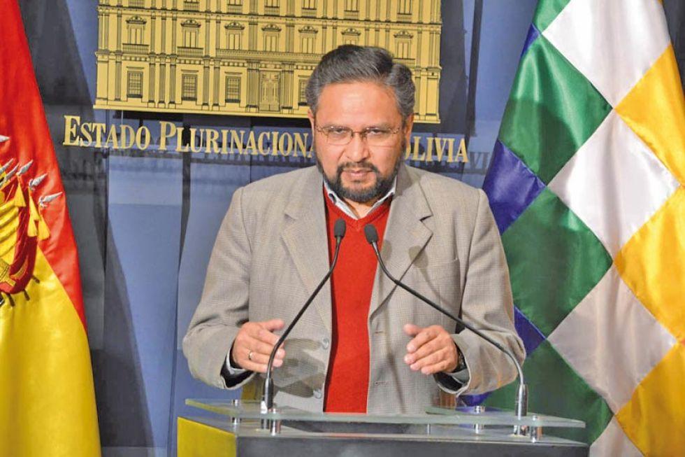 El extitular del Ministerio de Gobierno, Alfredo Rada.