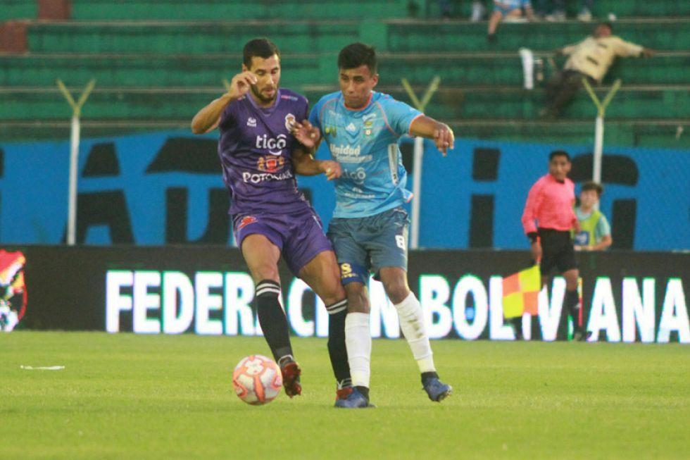 Real Potosí no pudo frenar a Blooming y perdió por 2 a 0
