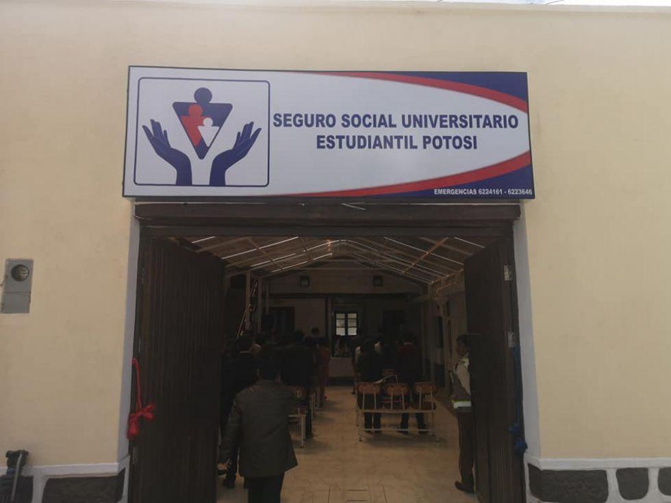 UATF inaugura edificio para el Seguro Social Médico Estudiantil