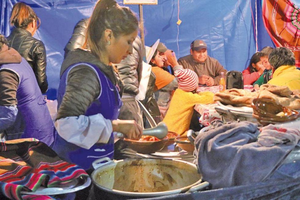 Prepararon los platos con esmero.