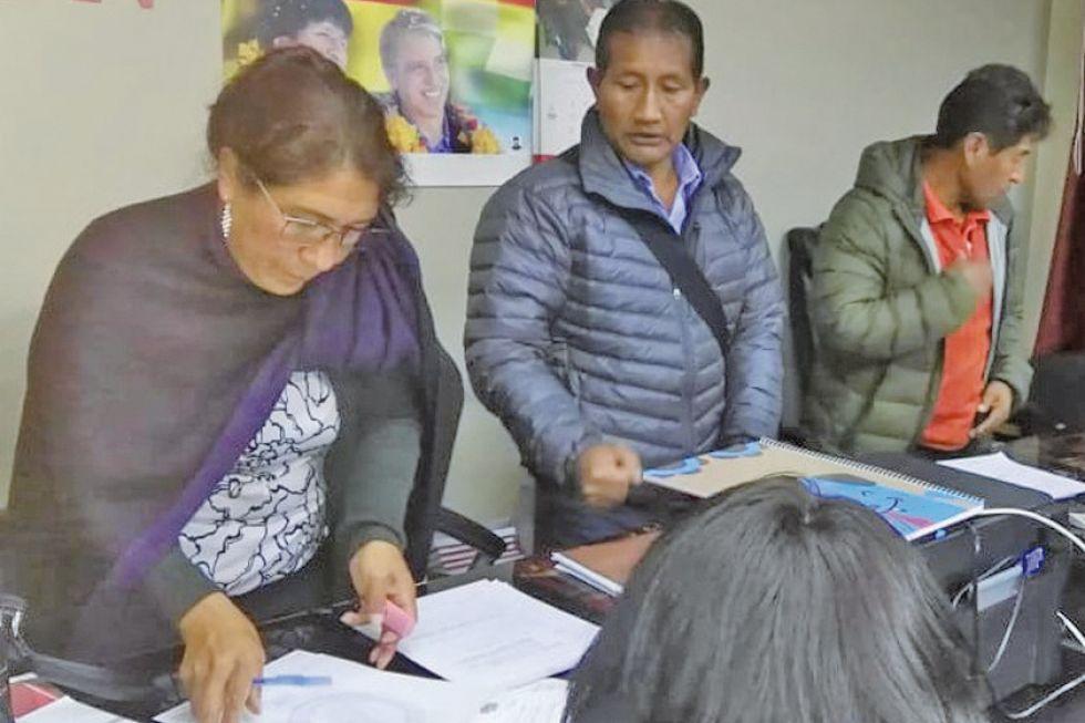 Habilitan 72 candidatos a vocales electorales en el Departamento de Potosí