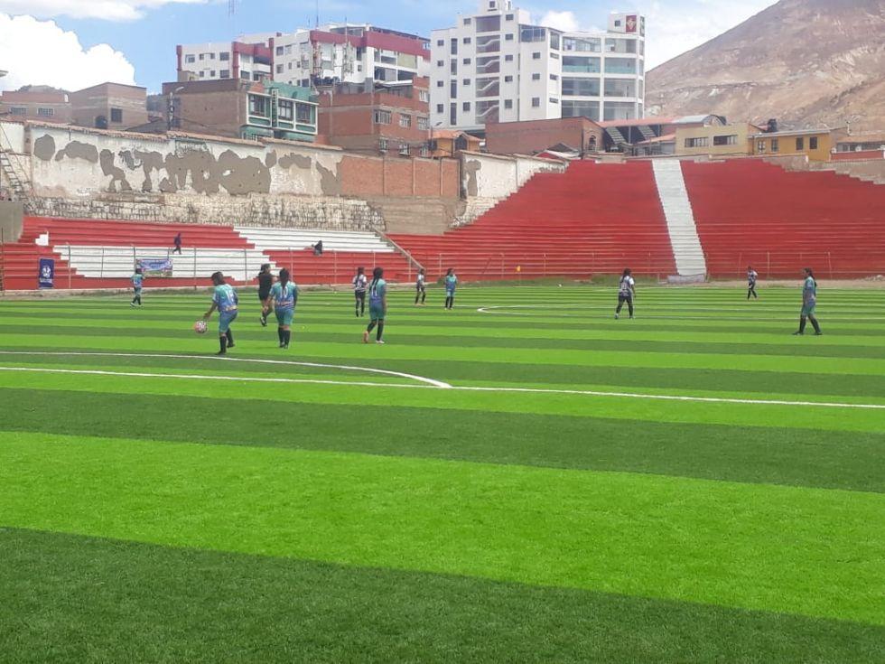 El partido fue en el estadio Potosí