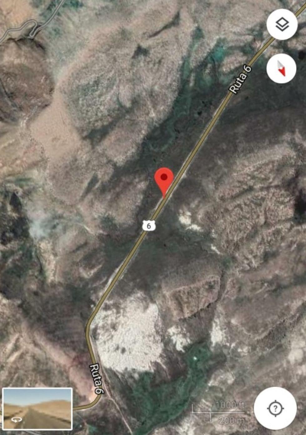 Fue en la ruta Huanuni - llallagua