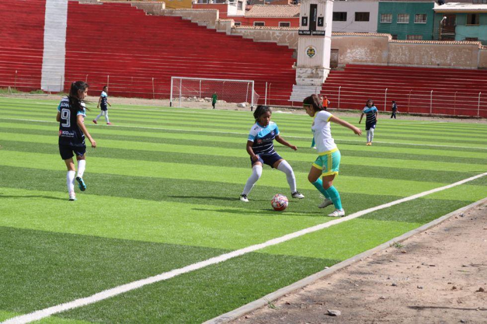 El partido entre Las Leonas FC, de Tarija, y Colcapirhua, de Cochabamba, quedó empatado 1-1.