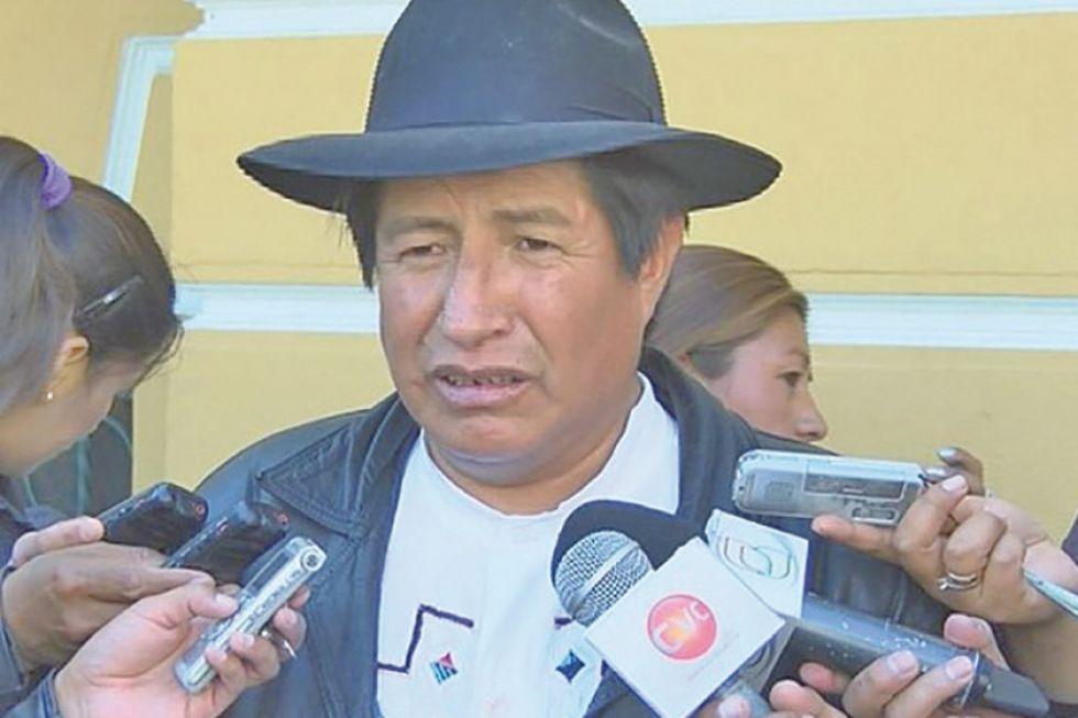 Quispe revela que no  hubo auditoría al Fondo Indígena