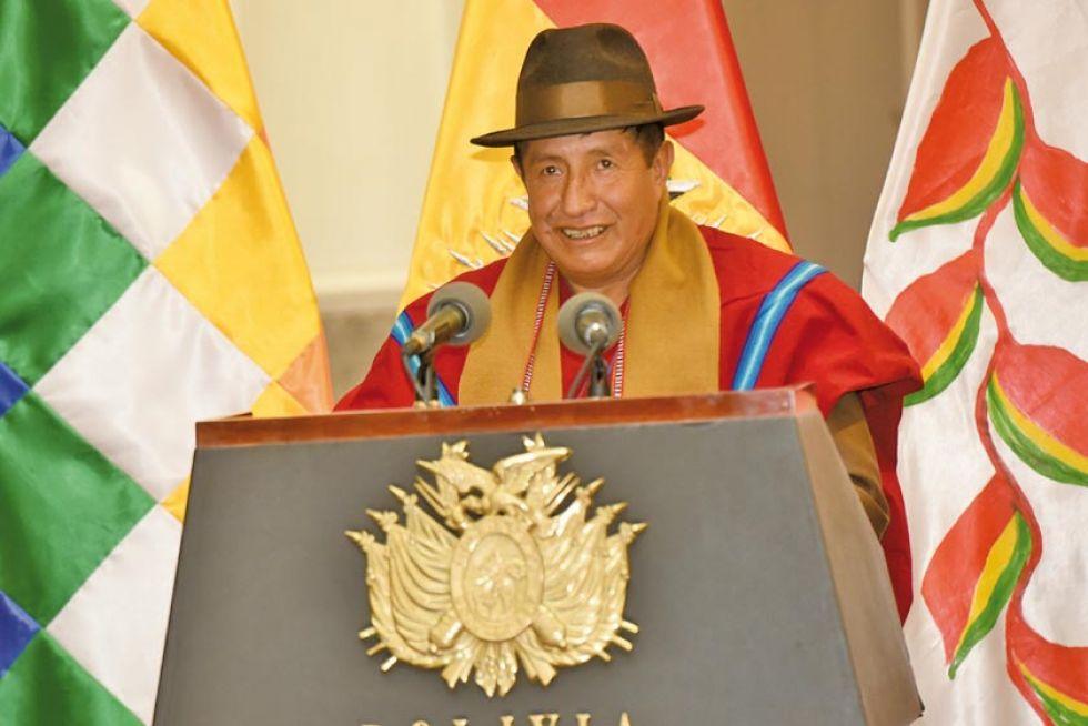El nuevo director del Fondo de Desarrollo Indígena (FDI), Rafael Quispe.
