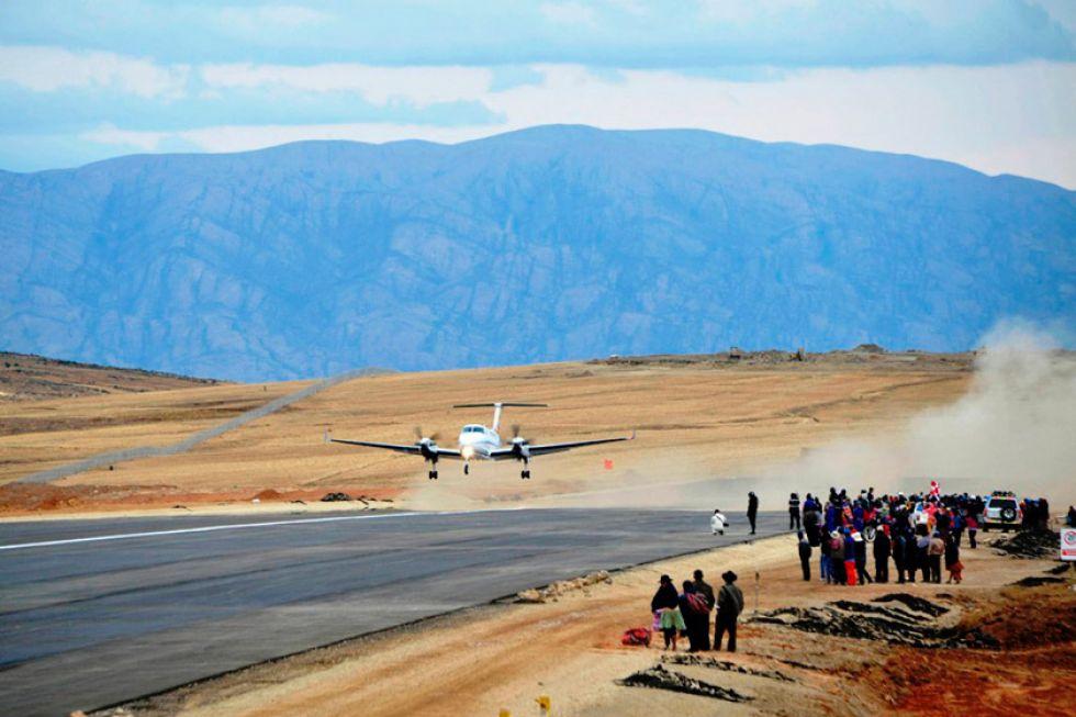 La DGA reclama el 40 por ciento de tierras del aeropuerto local