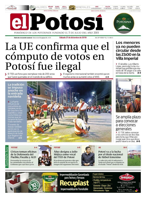El Potosí.
