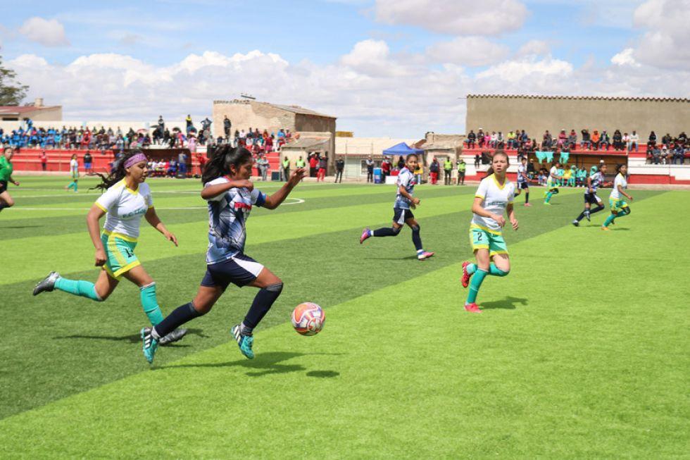 Potosí es segundo en fútbol femenino