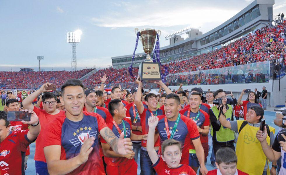 Wilster es el campeón del fútbol profesional de Bolivia
