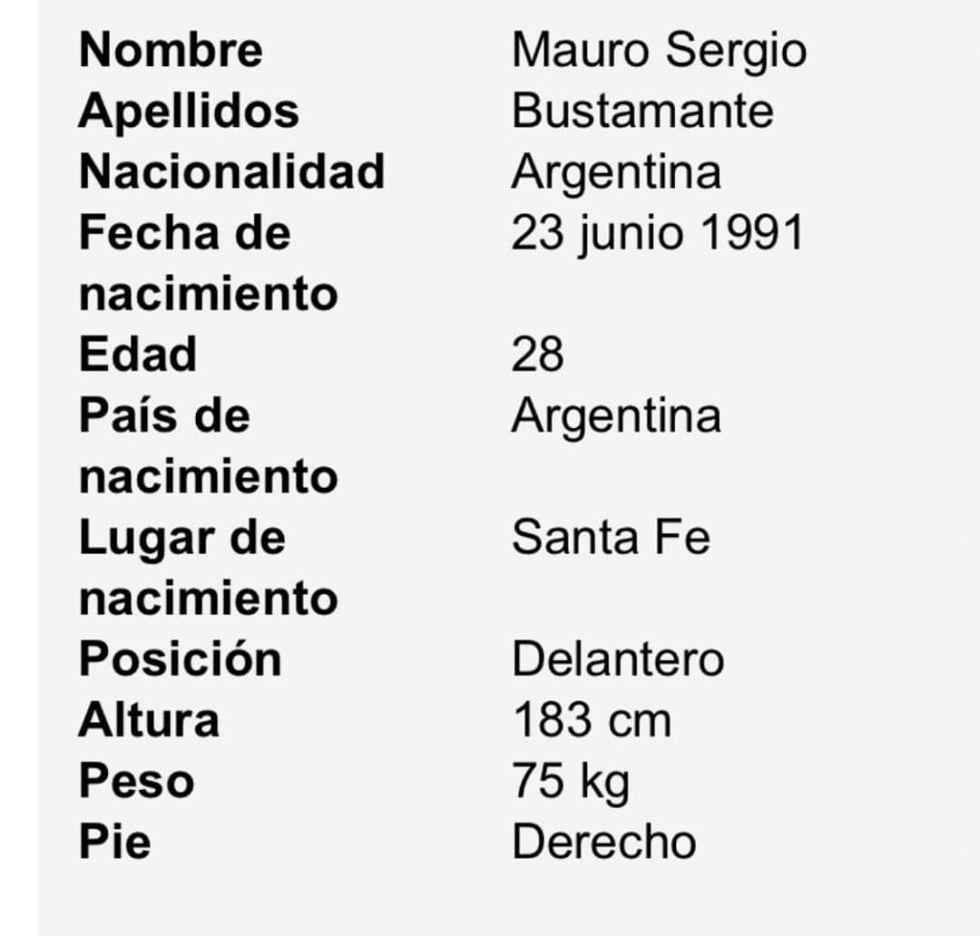 El jugador argentino será parte del equipo.