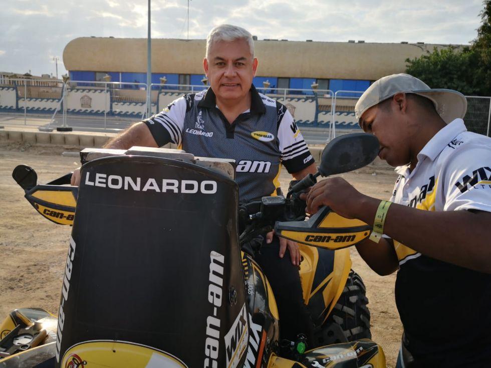 El piloto paso la fase técnica. FOTO  Leonardo Martínez