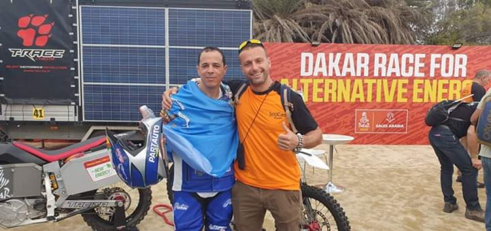Los bolivianos en el Dakar