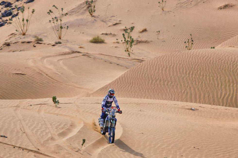 Tiembla la arena con el rugir de motores en Arabia
