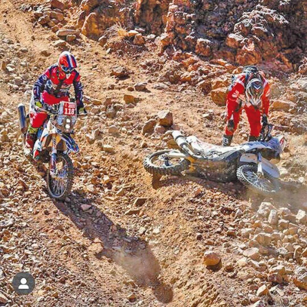 Los pilotos de motos sopesaron por varios escollos.