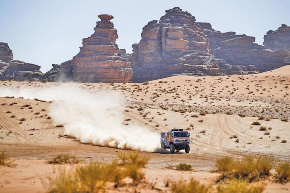 Tercera etapa Dakar