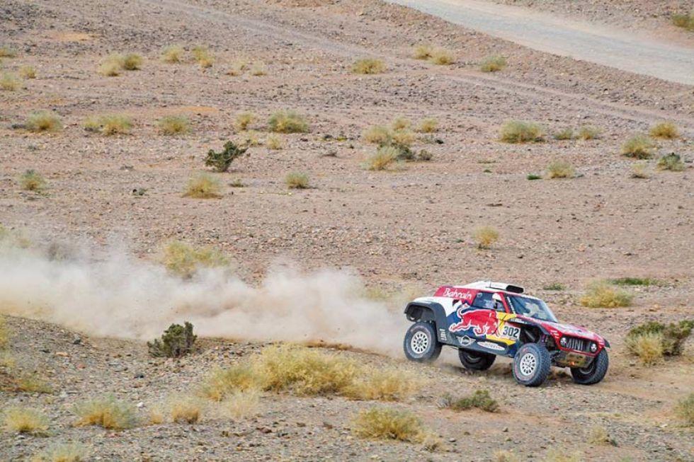La cuarta etapa se corrió  entre las localidades de Neom-Al-Ula, con un total de 672 kilómetros.