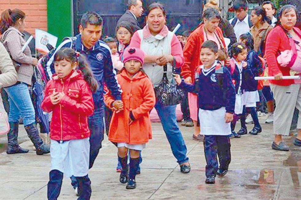 Inscripción escolar inicia el 20 de enero y vuelve el sistema trimestral
