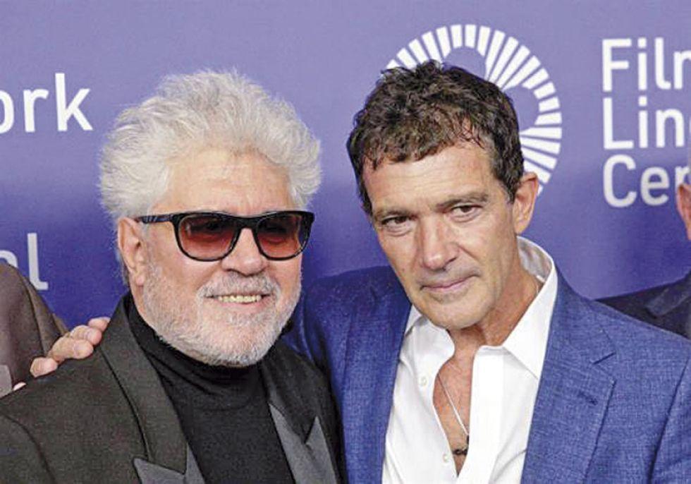 PROTAGONISMO. El actor español Antonio Banderas, de nuevo en primer plano con Pedro Almodóvar.
