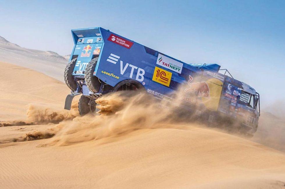 Octava etapa del Dakar