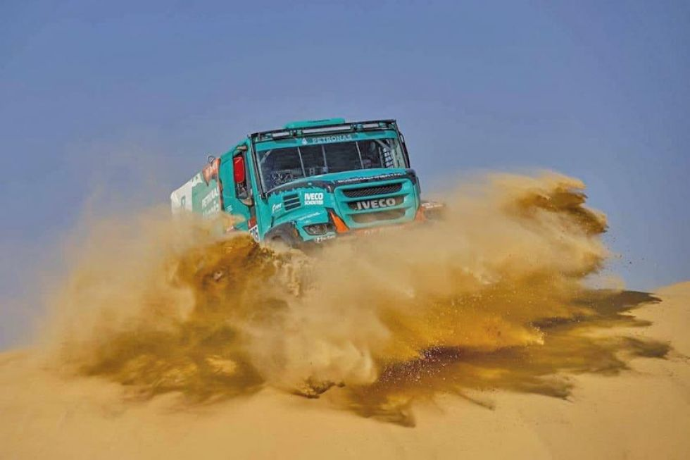 Décima etapa autos del Dakar 2020