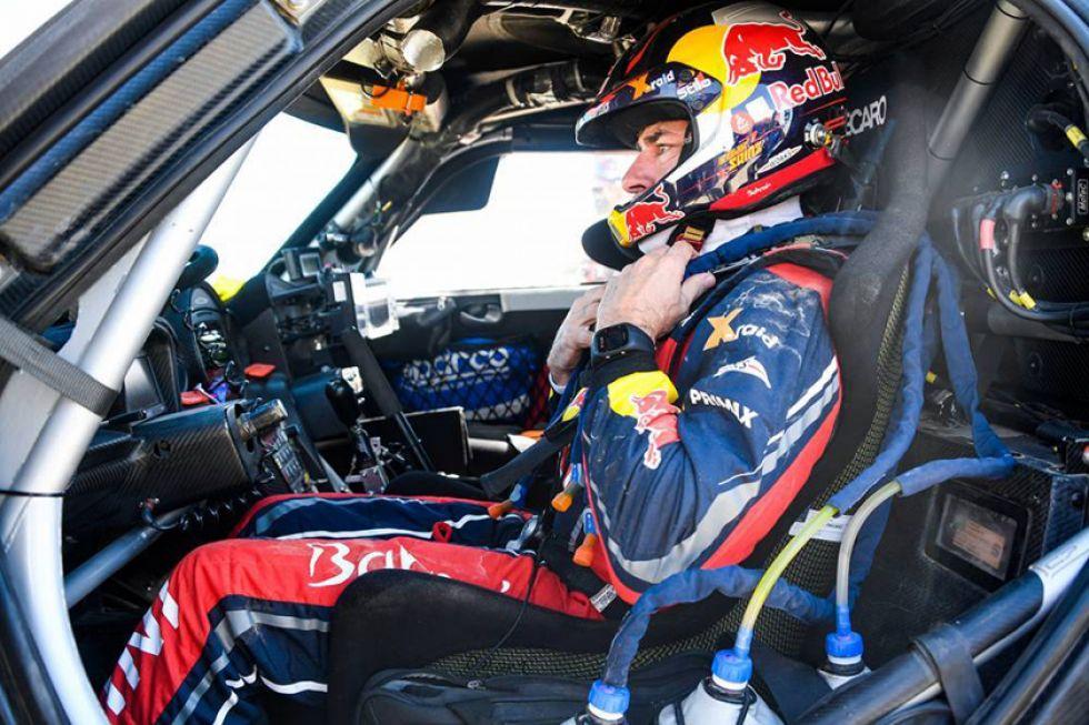 El piloto español se alista para entrar en competencia.