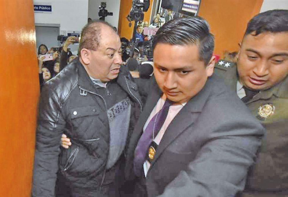 Está acusado por un caso de corrupción en la Uelicn.