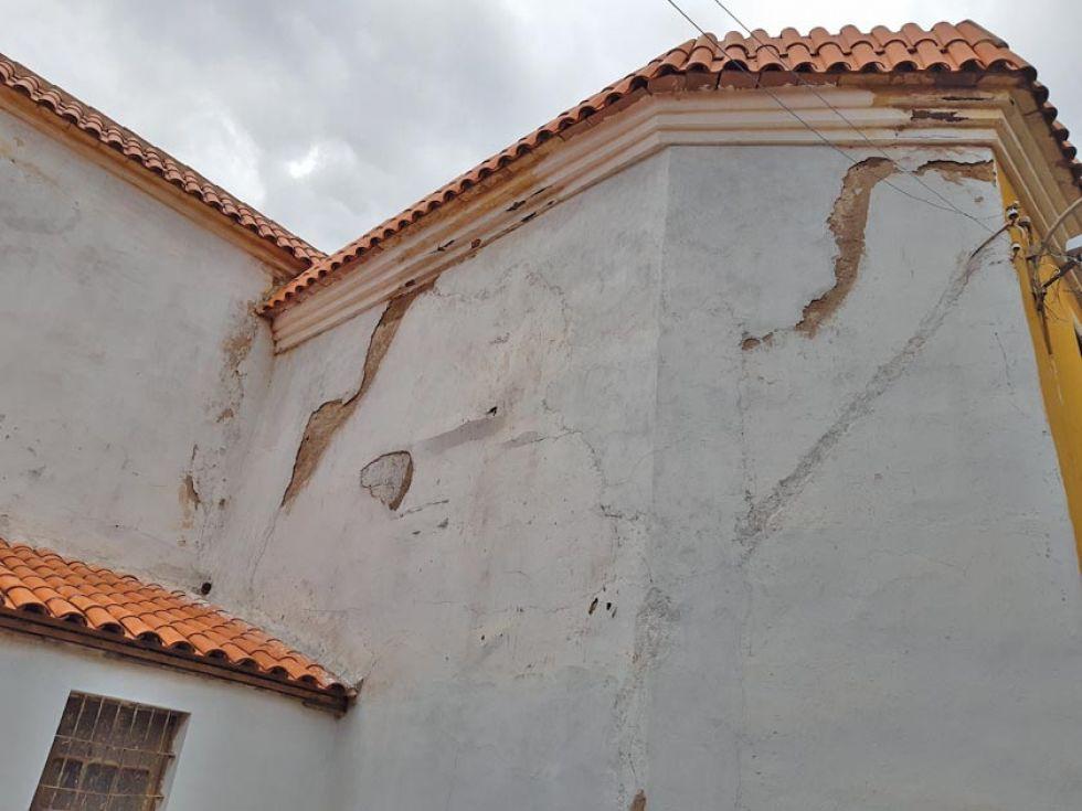 Los daños que están causando las lluvias.