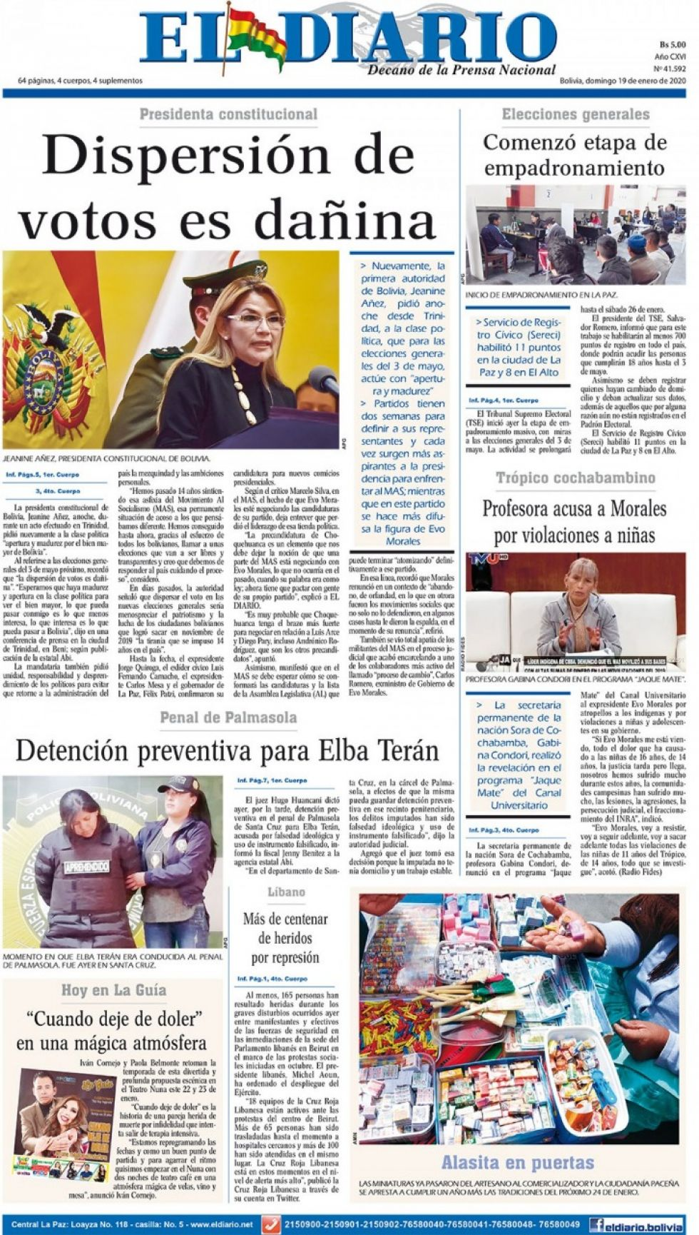 El Diario, La Paz.